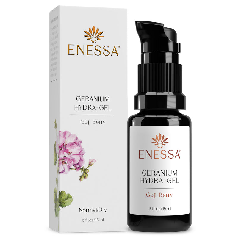 Geranium Hydra-Gel-Travel - Enessa Organic Skin Care