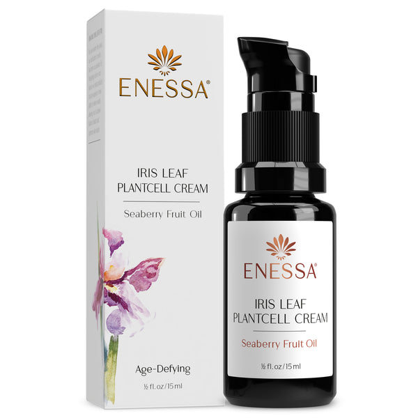 Iris Leaf Plantcell Cream-Travel - Enessa Organic Skin Care