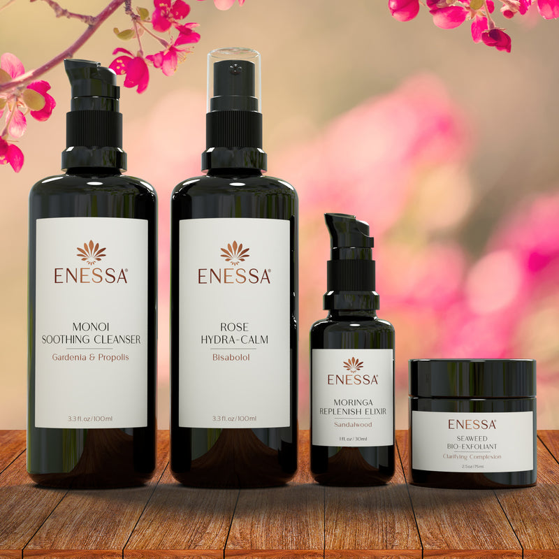 Essential Skin Care Kit-Replenish - Enessa Organic Skin Care