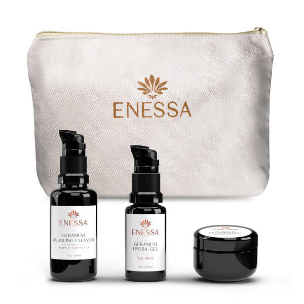 Geranium Hydration Kit - Enessa Organic Skin Care