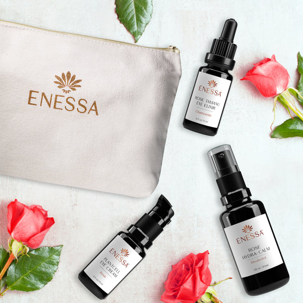 Rose Eye Revival Kit - Enessa Organic Skin Care
