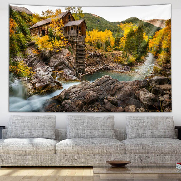 Crystal Mill Tapestry