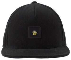 No Bad Ideas - Snapback Cap - Forever Leather Patch (Black)