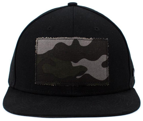 No Bad Ideas - Snapback Cap - Duke Camo Patch (Black/Camo)