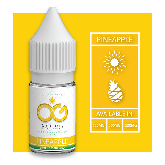 OG Labs - Pineapple CBD Eliquid (30ml)