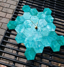 Hexi Clock - A New English Paper Piecing (EPP) Project