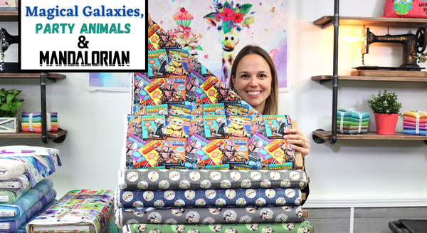 New Fabric Video #27: Magical Galaxies, Party Animals & The Mandalorian