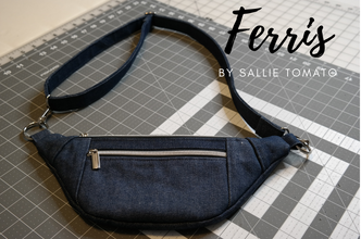 Ferris Fanny Pack By Pamela Ross