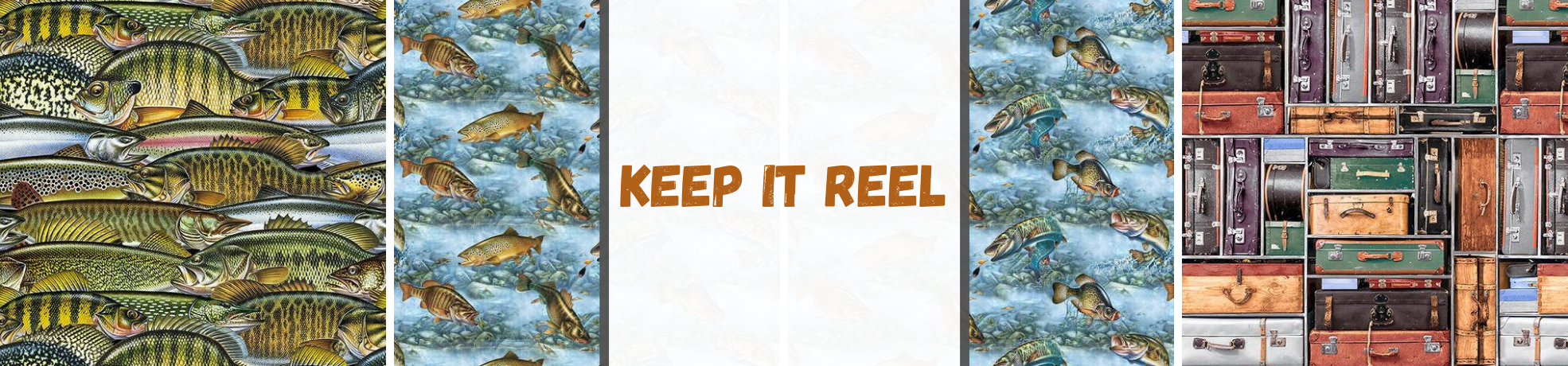 Keep It Reel Fabric Collection