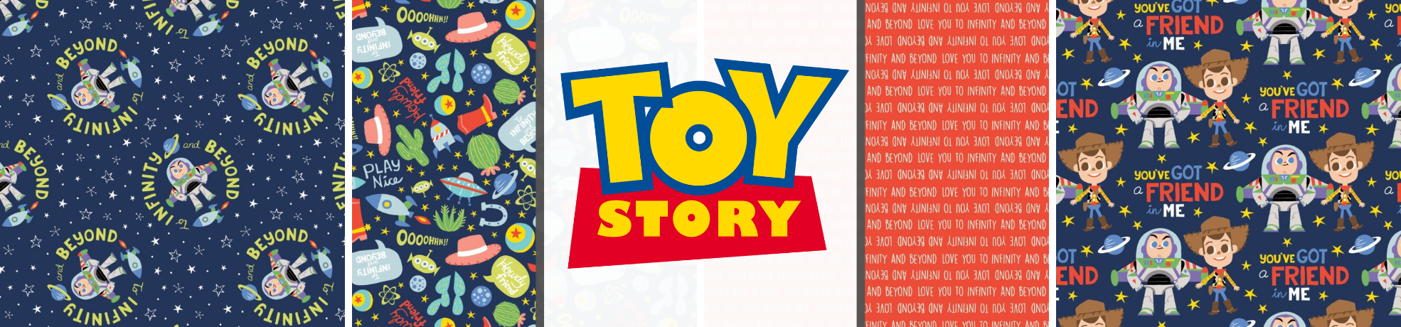 Toy Story Let's Play Fabric Collection
