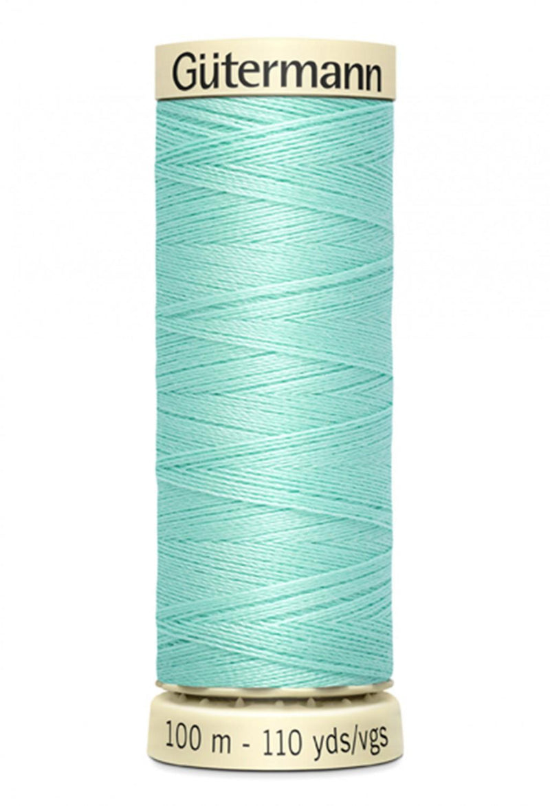 Sew-all Polyester All Purpose Thread 100m/109yds - Aqua 100M-655