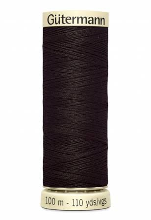 Sew-all Polyester All Purpose Thread 100m/109yds - Brown 100M-596