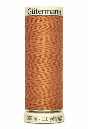 Sew-all Polyester All Purpose Thread 100m/109yds - Burnt Orange 100m-461