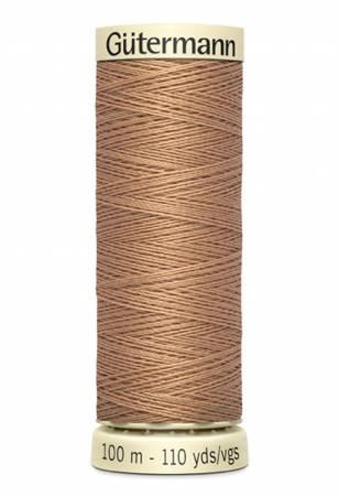 Sew-all Polyester All Purpose Thread 100m/109yds - Cafe Beige 100M-527