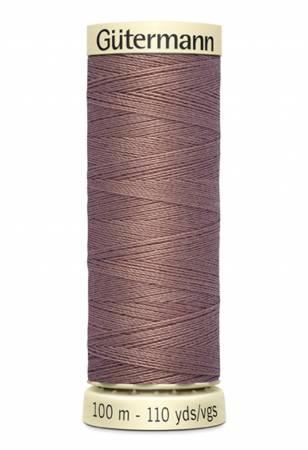 Sew-all Polyester All Purpose Thread 100m/109yds - Dark Taupe 100M-537