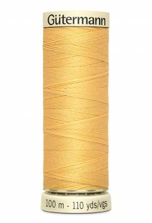 Sew-all Polyester All Purpose Thread 100m/109yds - Dust Gold 100M-827