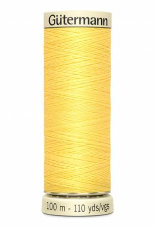 Sew-all Polyester All Purpose Thread 100m/109yds - Lemon Peel 100M-807