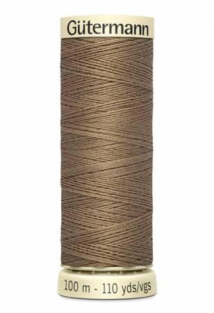 Sew-all Polyester All Purpose Thread 100m/109yds - Light Brown 100M-542