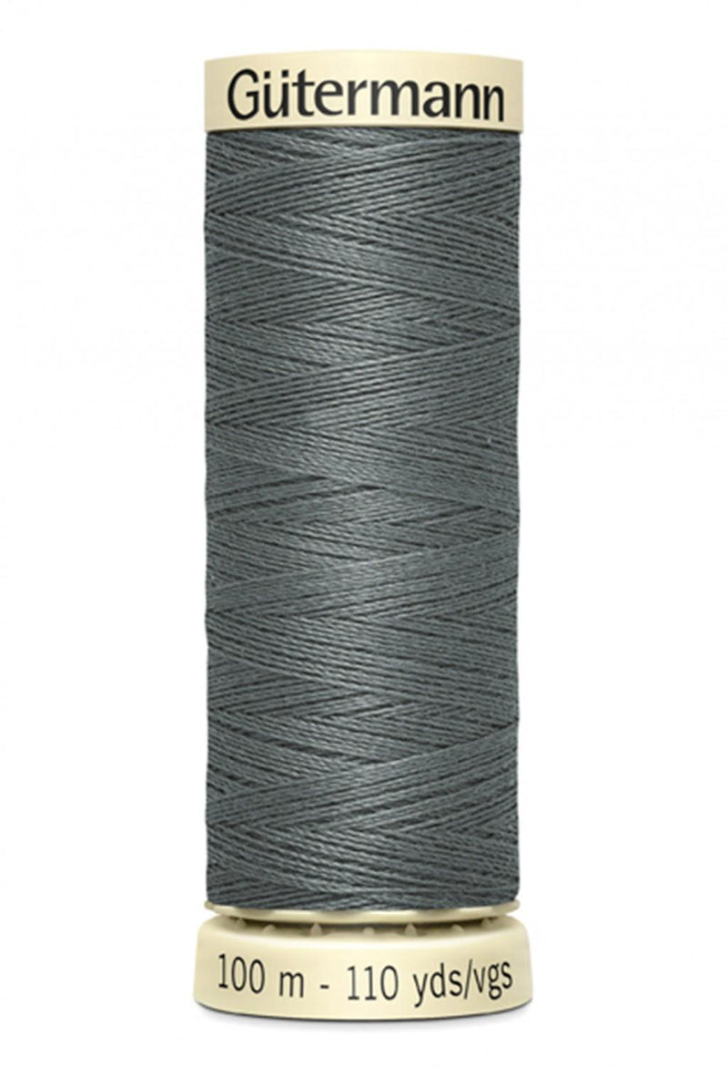 Sew-all Polyester All Purpose Thread 100m/109yds - Rail Grey 100M-115