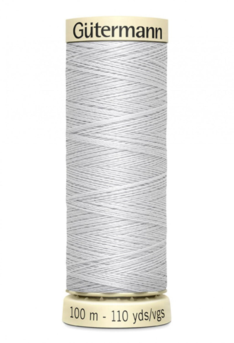 Sew-all Polyester All Purpose Thread 100m/109yds - Silver 100M-100