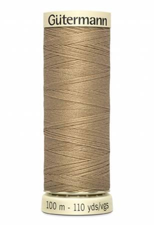 Sew-all Polyester All Purpose Thread 100m/109yds - Wheat 100M-520