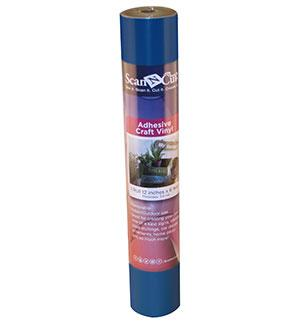 "12""x6 ft - Adhesive Craft Vinyl - BLUE"