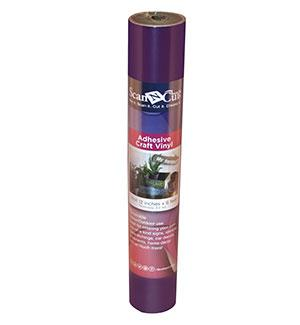 "12""x6 ft - Adhesive Craft Vinyl - PLUM"