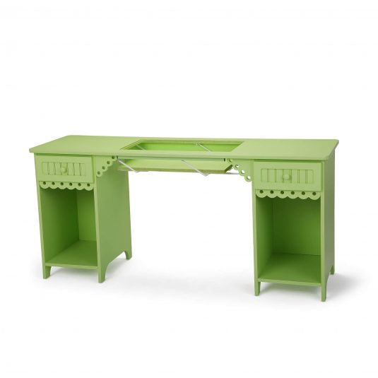Olivia Green Arrow Sewing Cabinet