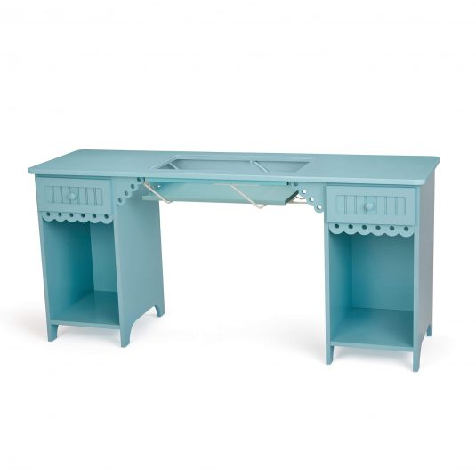 Olivia Blue Arrow Sewing Cabinet