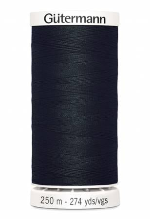 Sew-all Polyester All Purpose Thread 250m/273yds - Black 250M-010