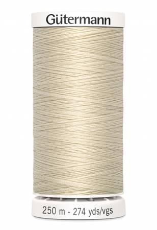 Sew-all Polyester All Purpose Thread 250m/273yds - Bone 250M-030