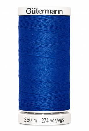 Sew-all Polyester All Purpose Thread 250m/273yds - Cobalt Blue 250M-251