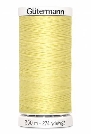 Sew-all Polyester All Purpose Thread 250m/273yds - Cream 250M-805