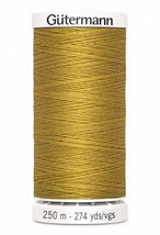 Sew-all Polyester All Purpose Thread 250m/273yds - Gold 250M-865
