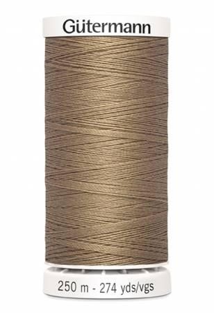 Sew-all Polyester All Purpose Thread 250m/273yds - Tan 250M-536