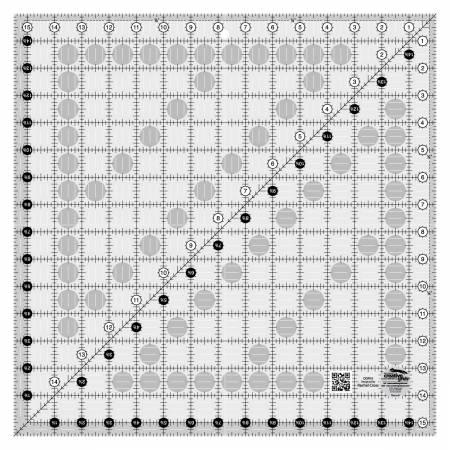 Creative Grids Quilting Ruler15 1/2in Square - CGR15