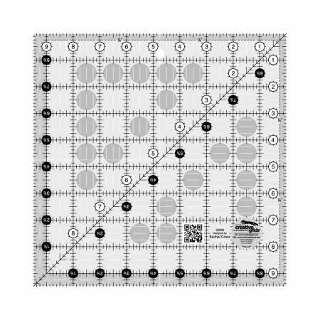 Creative Grids Quilt Ruler 9-1/2in Square - CGR9