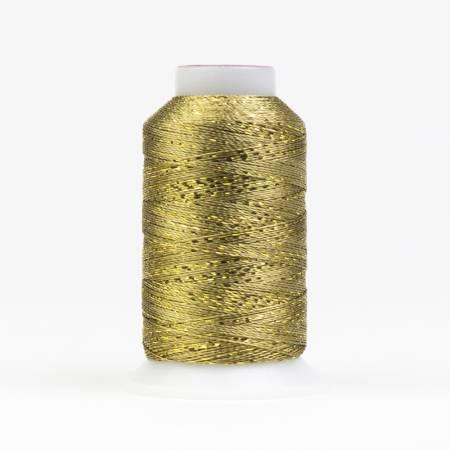 Glamore 12wt Rayon Metallic 274M/300yds-Gold GM-1000