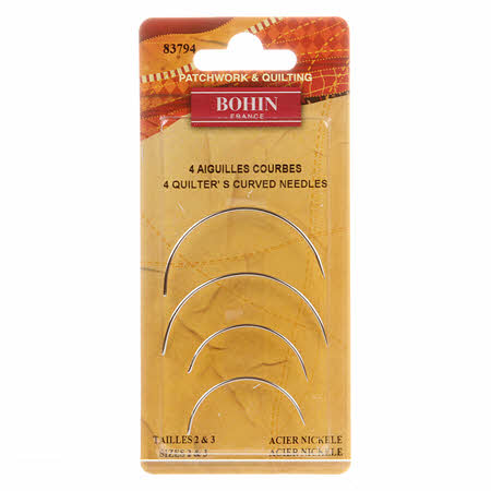 Bohin Curved Between / Quilting Needles - 83794