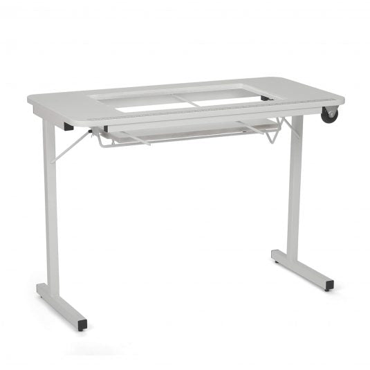 Gidget II White Sewing & Craft Table