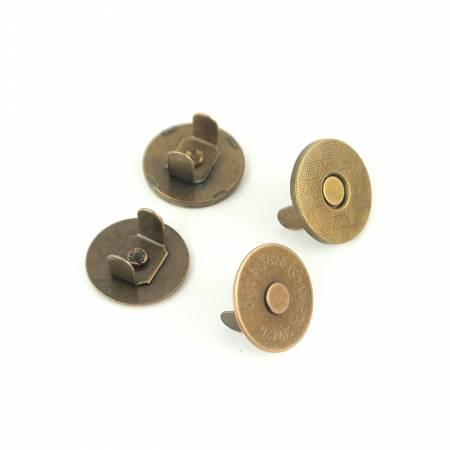 "Thin Extra Strong Magnetic Snaps 3/4"" 2pcs STS158A"