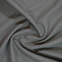 "58"" Pin Striped Suitings SUIT-65A22-MedGrey"