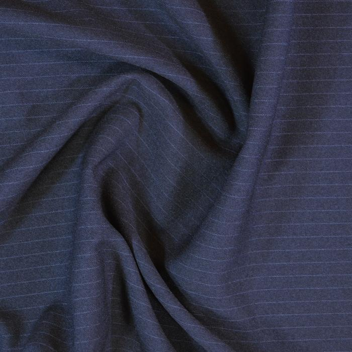 "58"" Pin Striped Suitings SUIT-65A22-Navy"