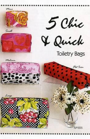 5 Chic & Quick Toiletry Bags TLP1235