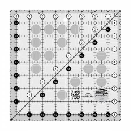 Creative Grids Quilting Ruler8 1/2in Square - CGR8