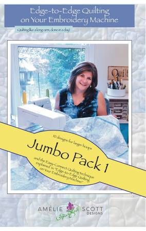 Edge To Edge QuiltingJumbo Pack 1