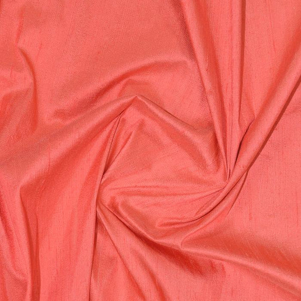 "Agra Hand Woven Dupioni 54"" AC-17 Coral"