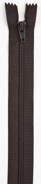 All-Purpose Polyester Coil Zipper 18in Cloister Brown