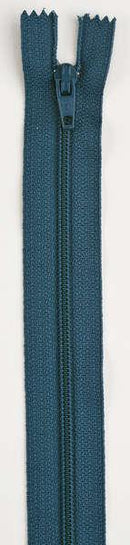 All-Purpose Polyester Coil Zipper 18in Dark Teal