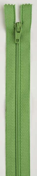 All-Purpose Polyester Coil Zipper 22in Bright Green